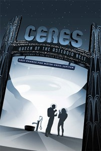 NASA Vision of future: Ceres - Queen Of The Asteroid Belt