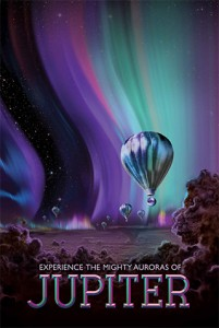 NASA Vision of future: Jupiter - Experience The Mighty Auroras