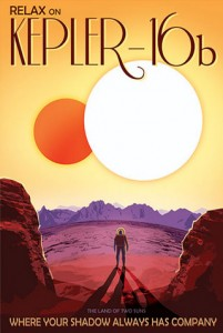NASA Vision of future: Kepler-16b - Where Your Shadow Always Has Company