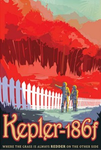 NASA Vision of future: Kepler-186f - Where The Grass Is Always Redded On The Other Side