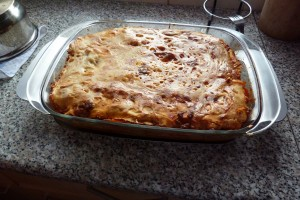 Domácí těstoviny: upečené lasagne