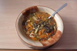 Hotová pekingská polévka