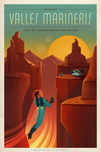 SpaceX: Discover Valles Marineris - Land Of Matian Chasms And Craters