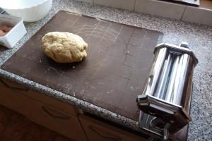 Domácí těstoviny: hrubé těsto